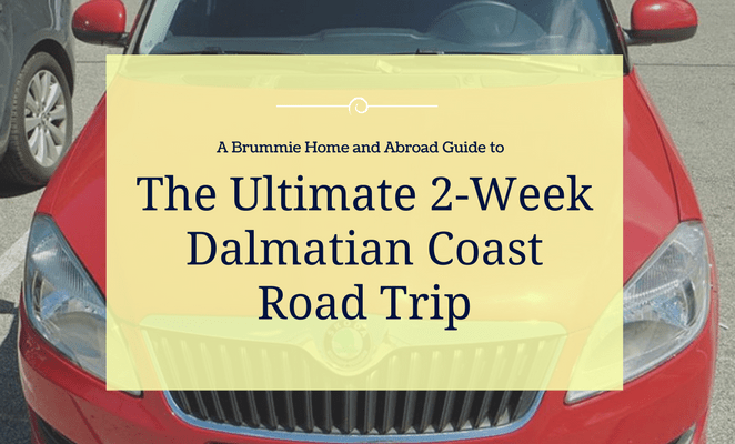 When we decided to visit Croatia in June 2016 it was difficult to narrow it down to one place to visit. So that's why we decided to hire a car and stay in 7 different towns on and around the Dalmatian Coast! Here's A Brummie Home and Abroad's Guide to planning a 2-week road trip in Croatia.