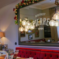 The interior of Bistrot Pierre Birmingham