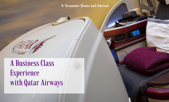 Business Class Experience with Qatar Airways