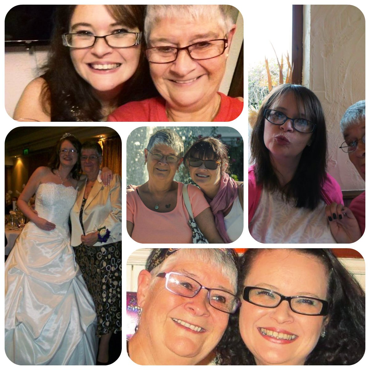 A Collage of Me and Ma Lee for Mothers Day 2018