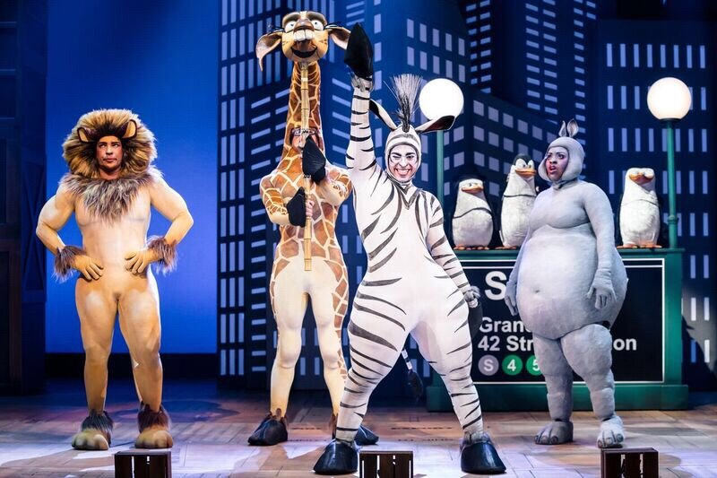 Madagascar the Musical: Press photos by Scott Roland