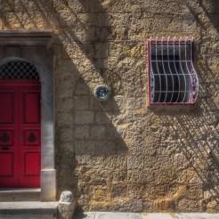Colourful doors in Rabat, Malta