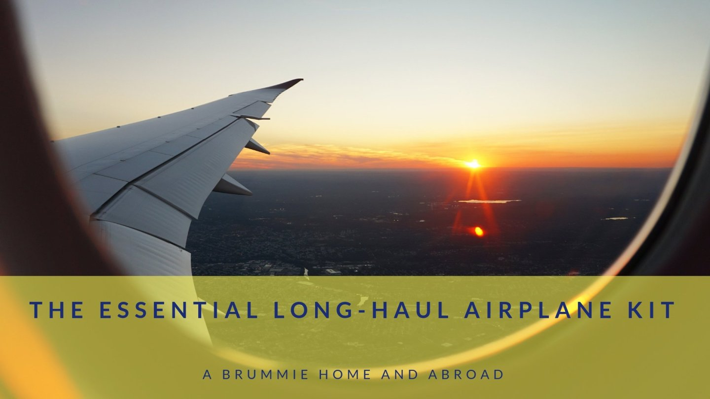 The Essential Long-Haul Airplane Kit