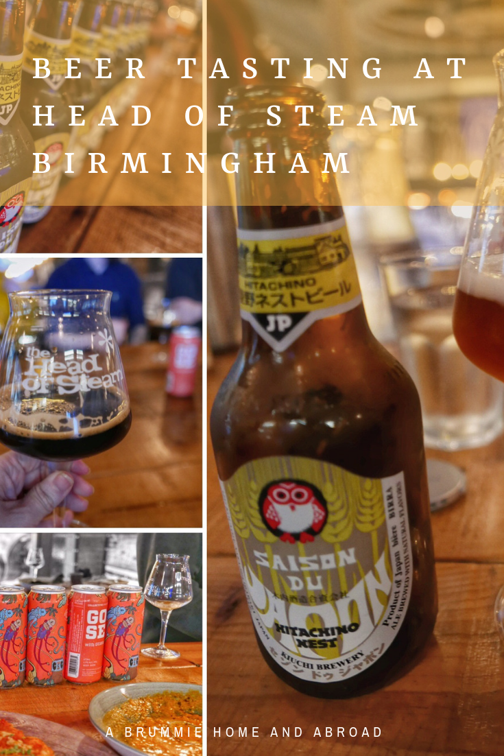 A Brummie Home and Abroad: Beer Tasting at Head of Steam Birmingham