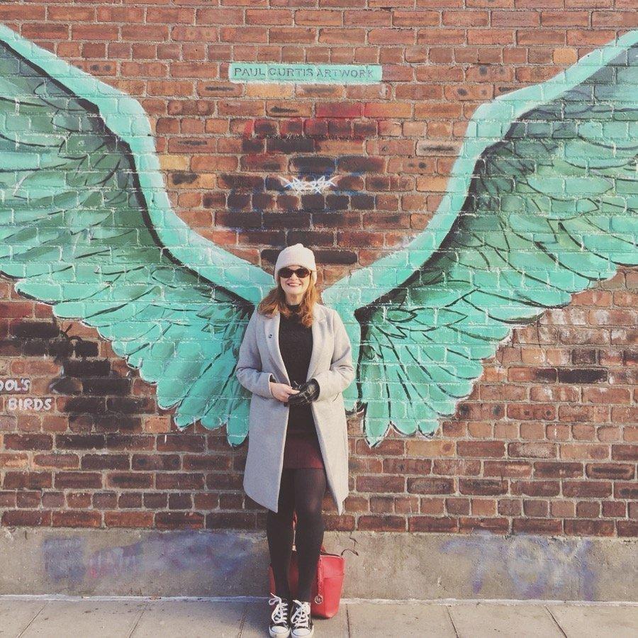 Liver Bird Wings, Street Art