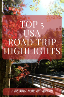 Mr Fletche and I have been lucky to do two different US road trips over the last 6 years - this got me thinking about some of my favourite memories...