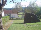 Dolmen front stone