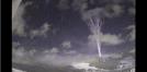 Brazil blue sprite lightning