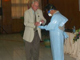 U.S. Department of State Biosecurity Engagement Program sponsored Biosafety and Biosecurity Workshop in Indonesia with ABSA and Sandia instructors, June 2006