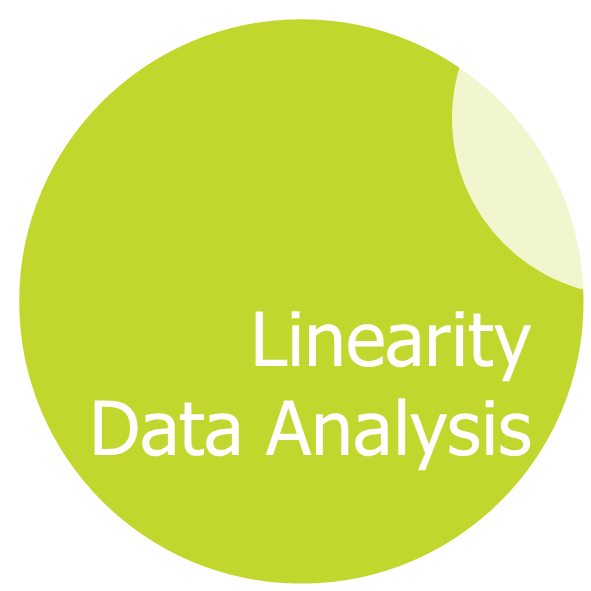 Linearity data analysis Logo