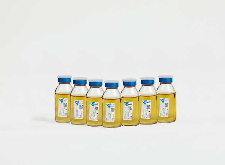 Bottled microbiology media from AB Scientific.