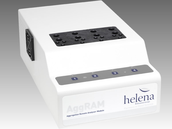 AggRAM Light transmission Aggregometer