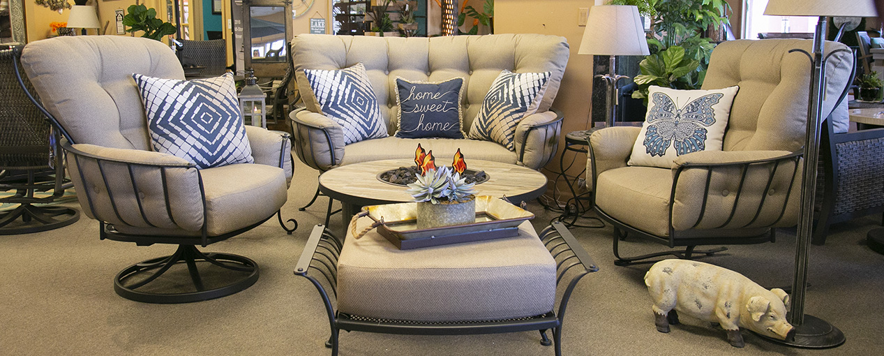patio furniture grills fireplaces