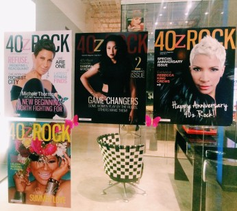 40z Rock Magazine Covers