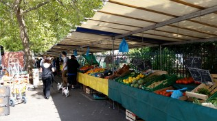Our Wednesday market.