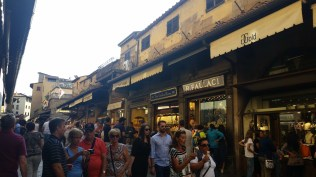 Ponte Vecchio. I had no idea it was lined with crappy jewelry stores.
