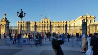 Palacio Real, where the royals no longer live. Monarchies are dumb.