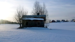 One of the oldest husmannsplassens (traditional building that farmhands and their families lived in) in the area. Elin owns it and plans to restore it.