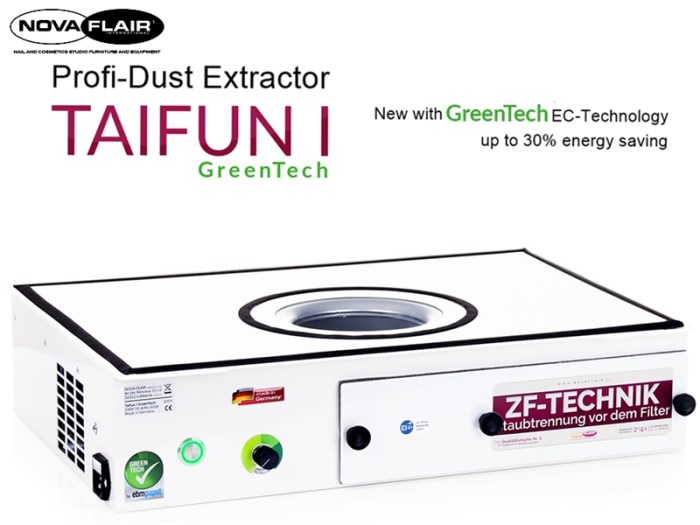 Taifun 1 Professional Dust Extractor Collector Filtration System Nova Flair UK