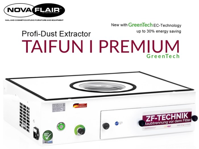 Taifun 1 Premium Dust Extractor Collector Filtration System Nova Flair UK