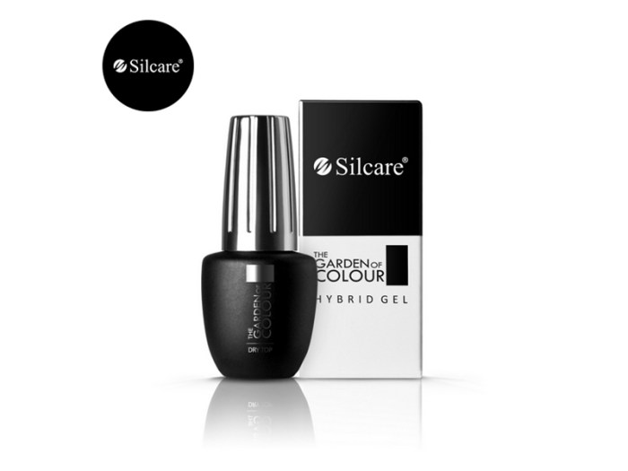 Super Shine Dry Top 9ml Silcare UK