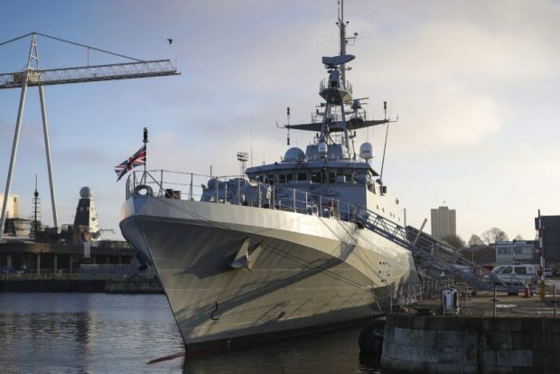 HMS Spey joins RN fisheries squadron