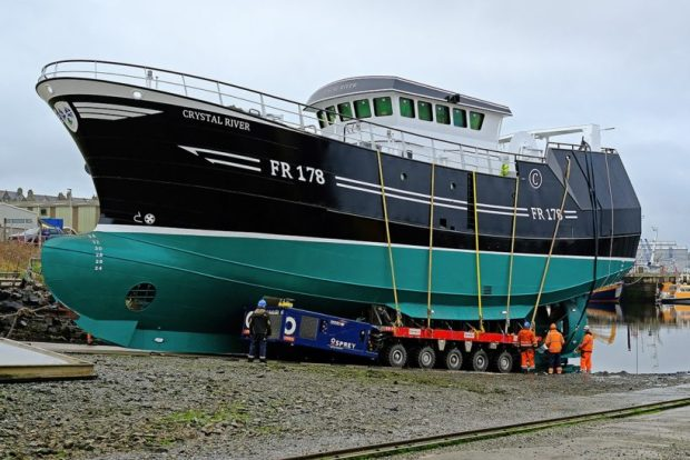 New Crystal River launched at Buckie
