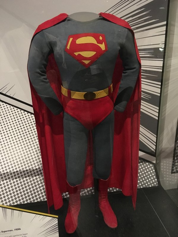 Superheroes at the National Museum of American History