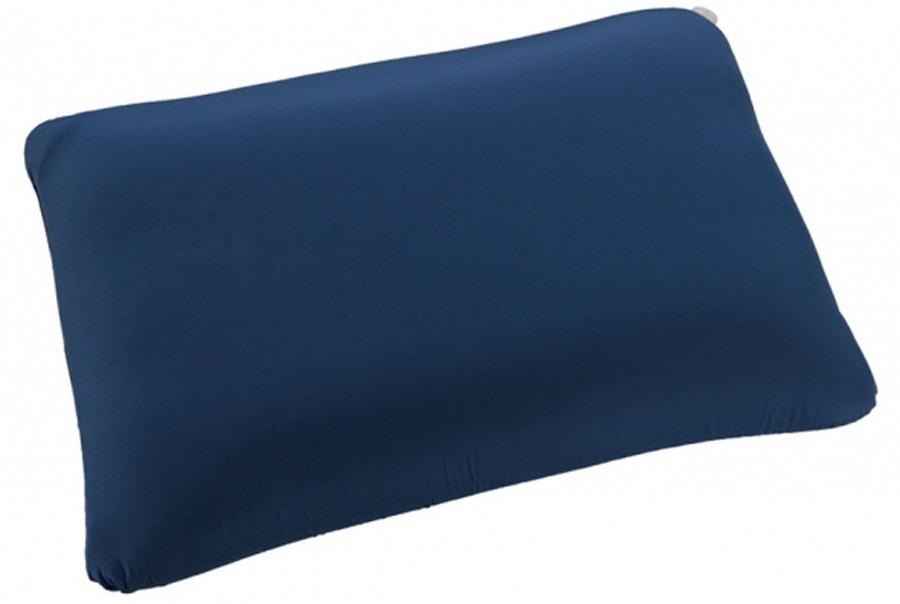 vango shangri la pillow memory foam camping pillow regular sky blue