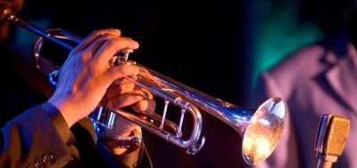 Jazz Musician playing Trumpet