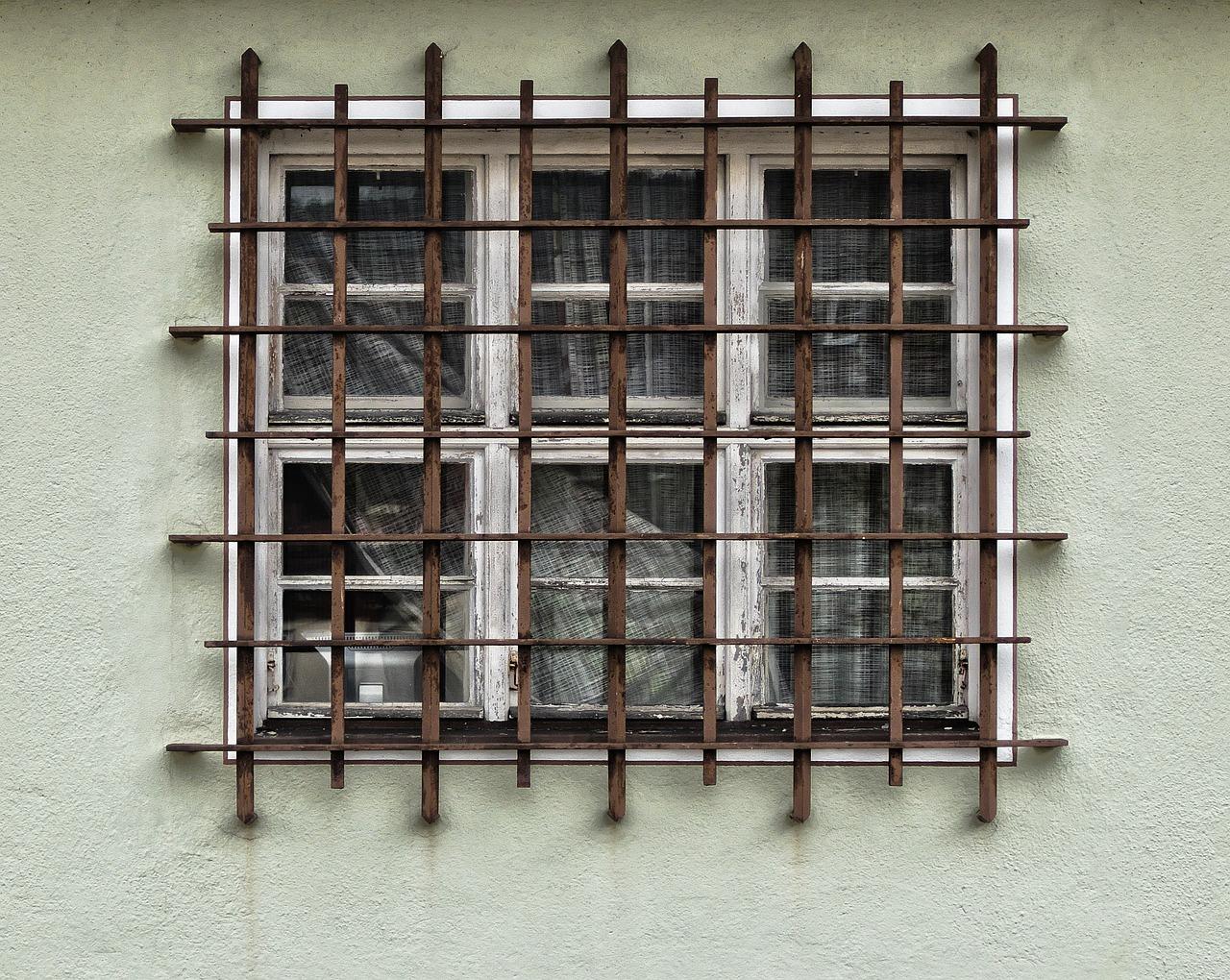 facade, grid, window