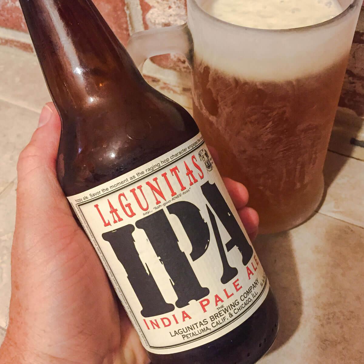 Lagunitas IPA, an American IPA by Lagunitas Brewing Company