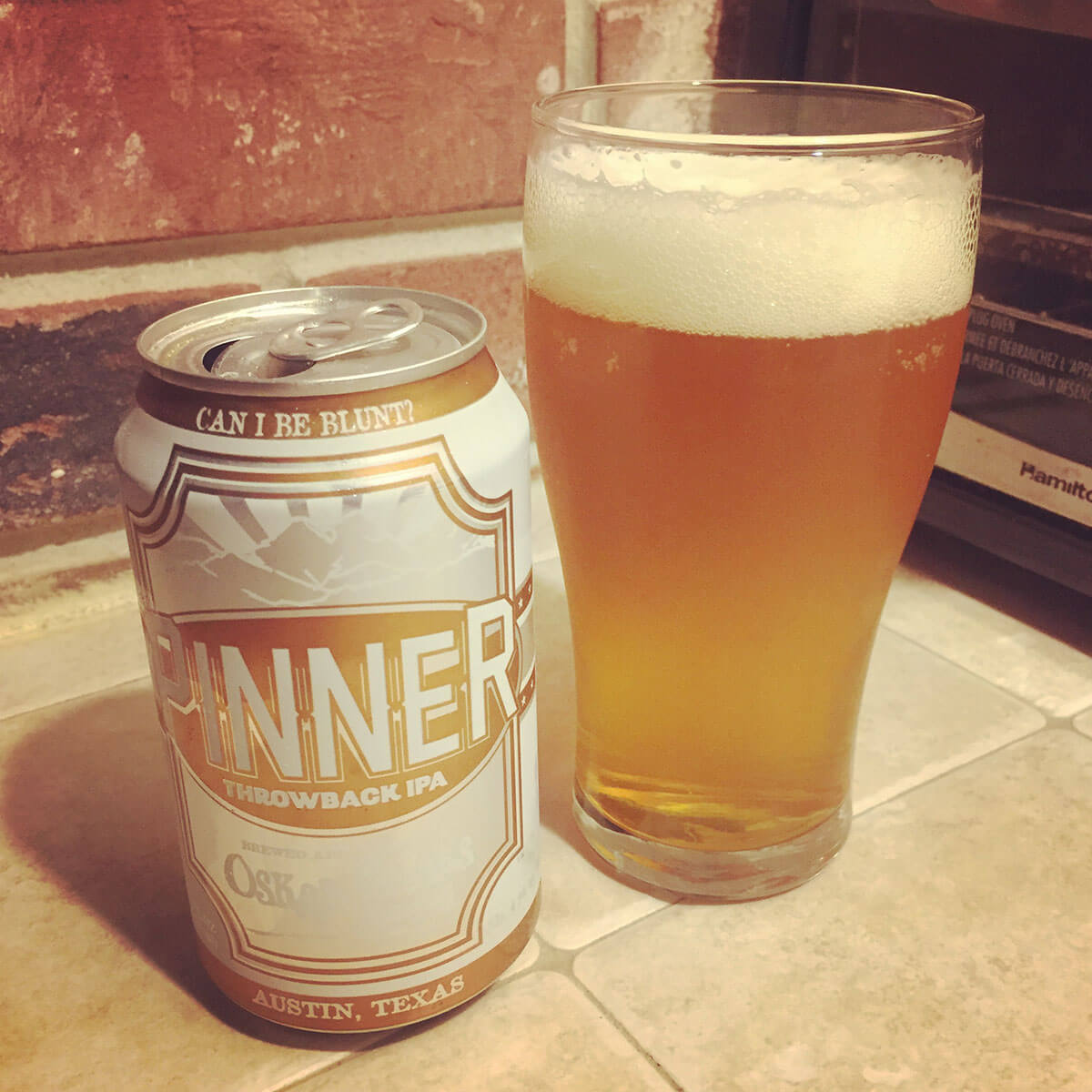 Pinner, a Session IPA by Oskar Blues Brewery