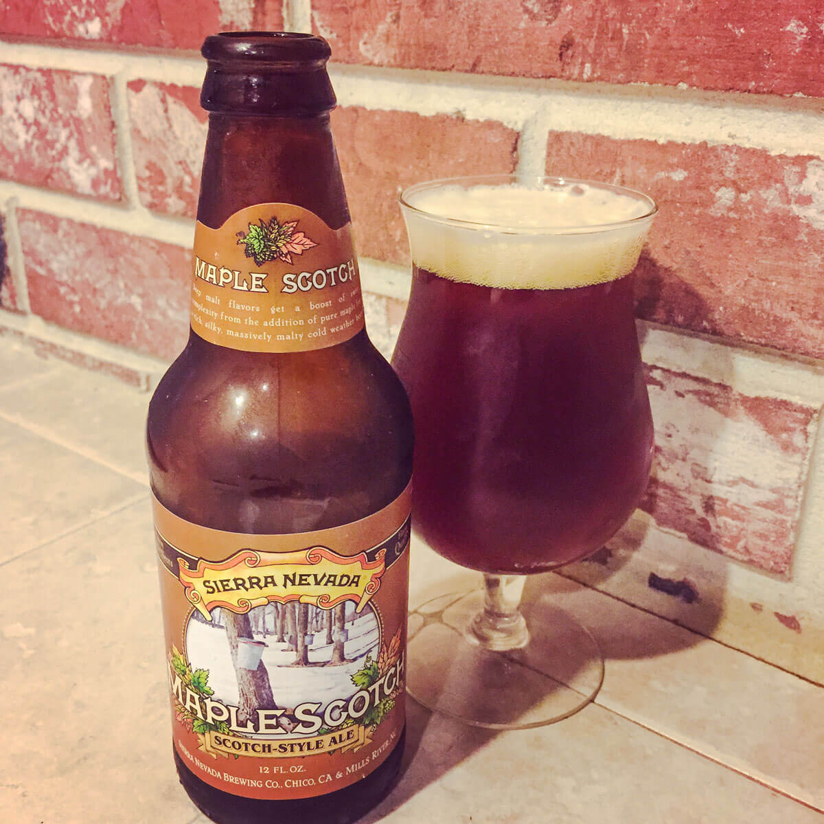 Maple Scotch, a Scottish Ale by Sierra Nevada Brewing Co.
