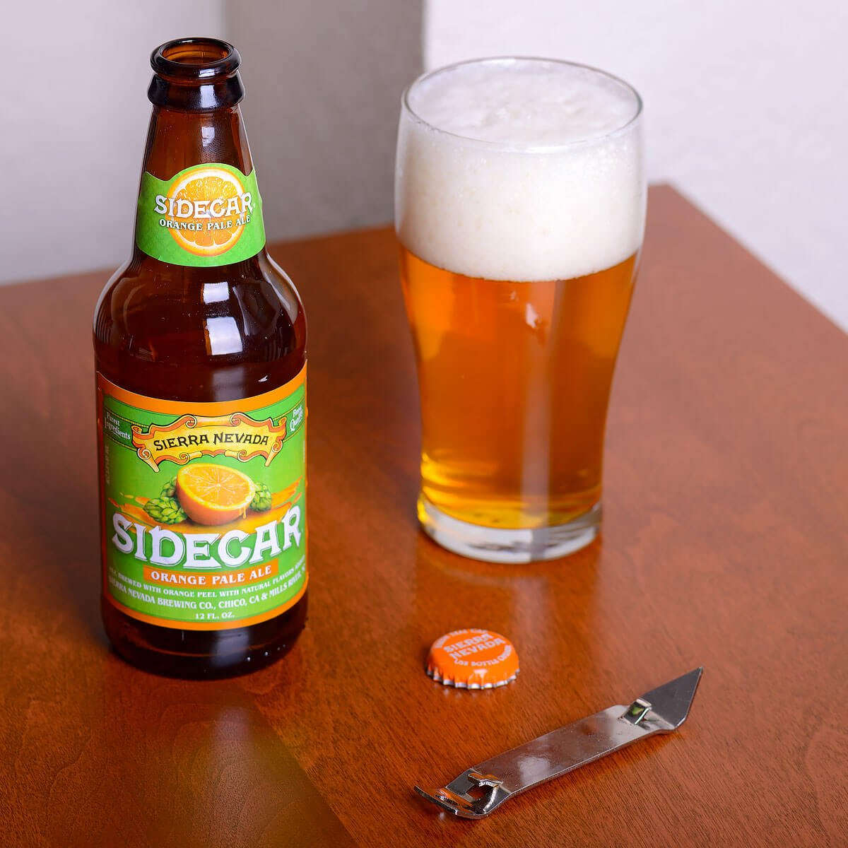 Sidecar Orange Pale Ale, an American Pale Ale by Sierra Nevada Brewing Co.