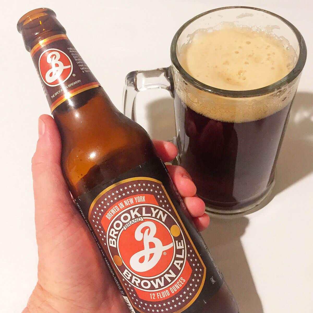 Brooklyn Brown Ale, an American Brown Ale by Brooklyn Brewery