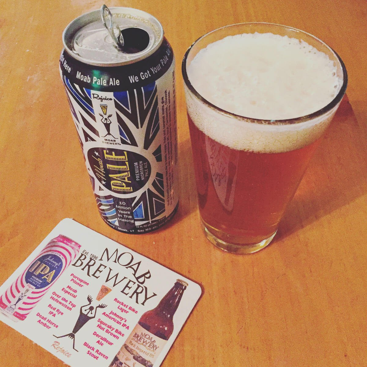 Moab Pale, an American Pale Ale by Moab Brewery