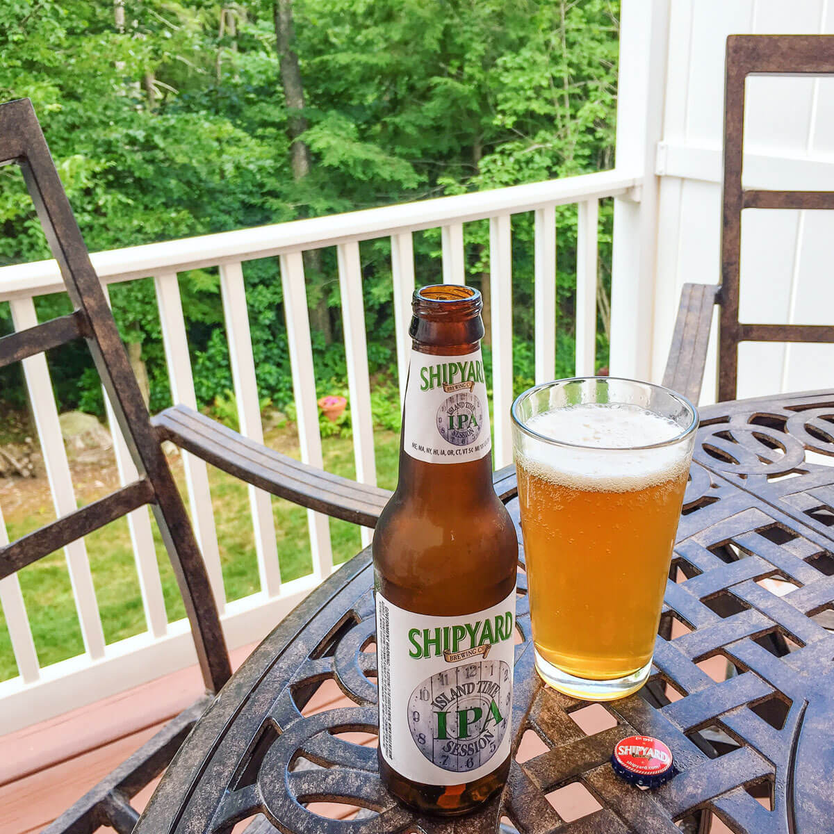 Island Time Session IPA by Shipyard Brewing Co.