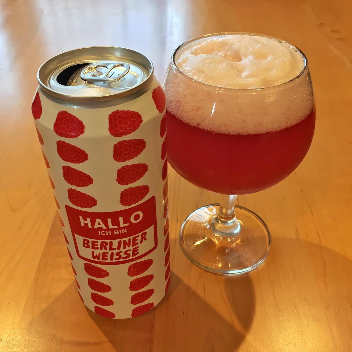 Hallo Ich Bin Berliner Weisse (Raspberry) is a Raspberry-flavored Berliner Weisse style beers brewed by Mikkeller ApS