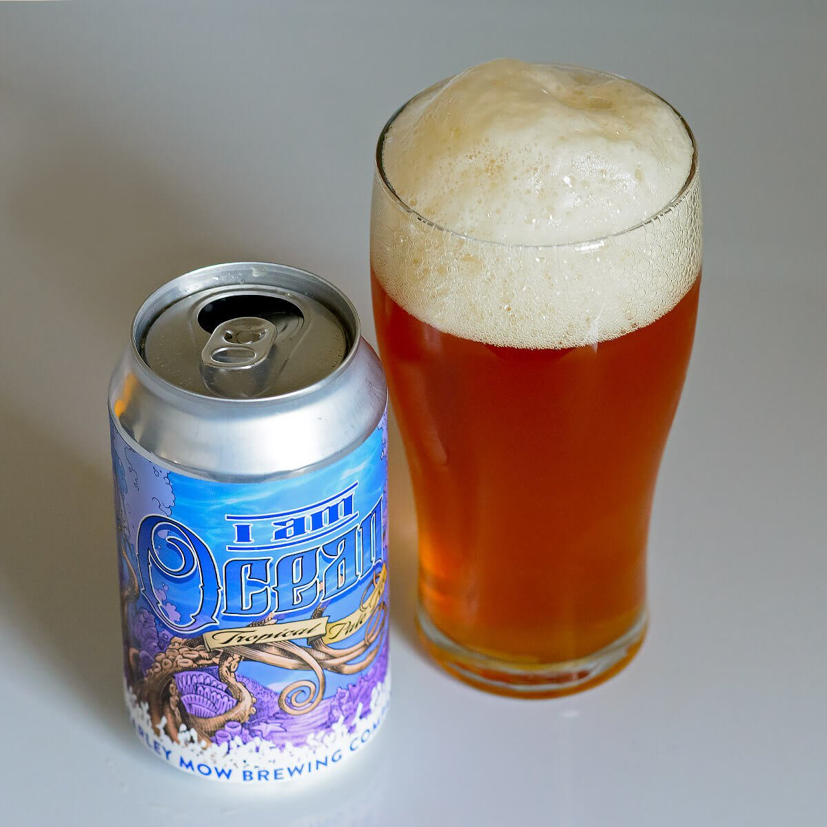 I Am Ocean, an American Pale brewed by Barley Mow Brewing Company.