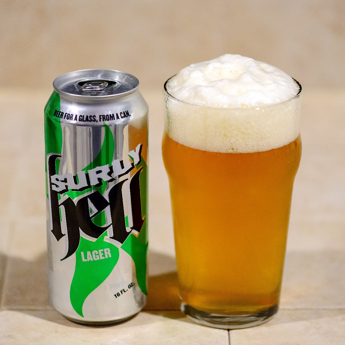 Hell, a Munich Helles Lager by Surly Brewing Co.