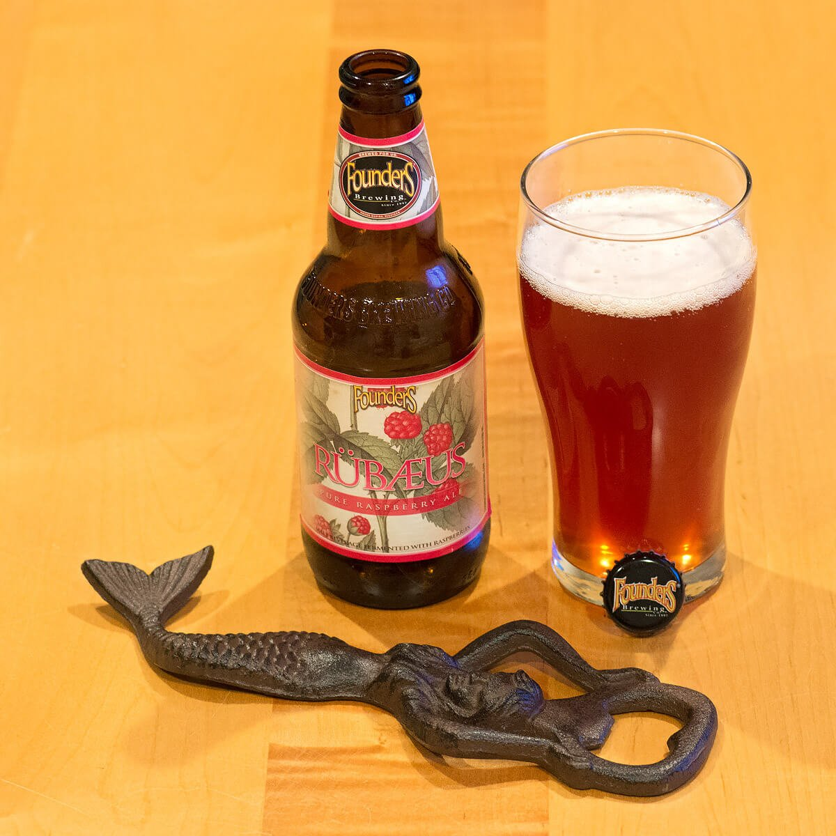 ONE Founders Brewing Co Tulip Shaped Beer Tasting Glass