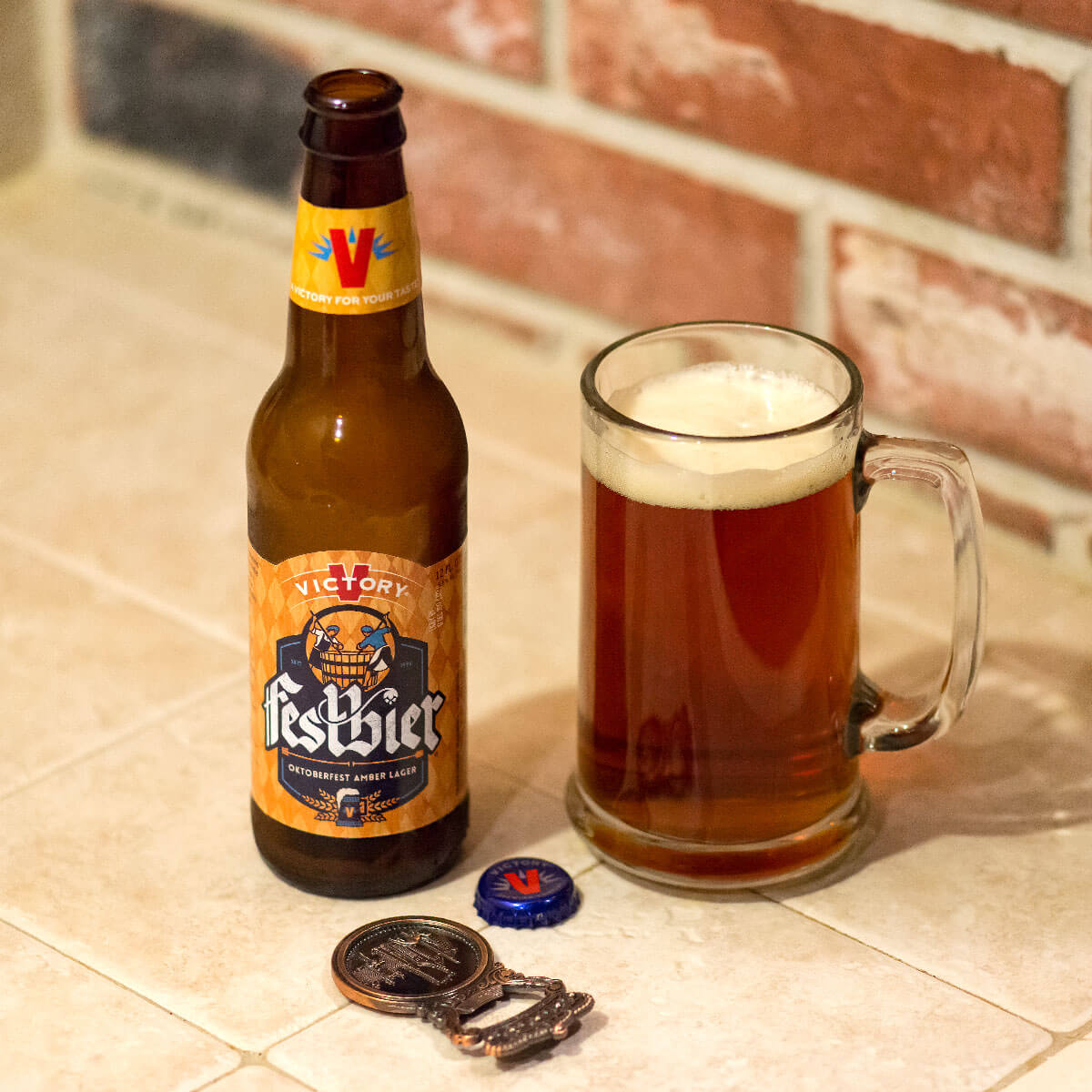 Festbier, a German-style Märzen Lager by Victory Brewing Co.