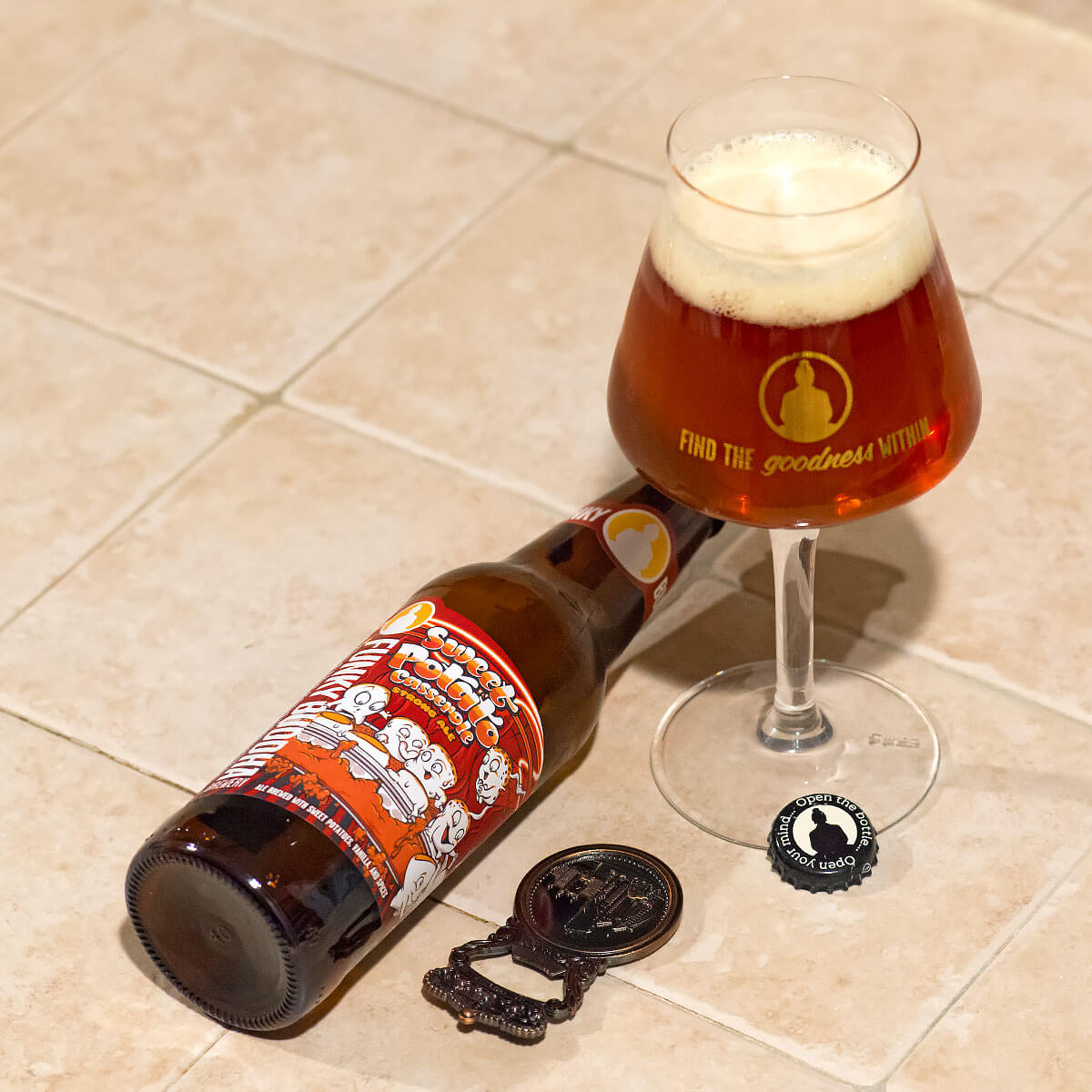 Sweet Potato Casserole, a Fruit Beer by Funky Buddha Brewery