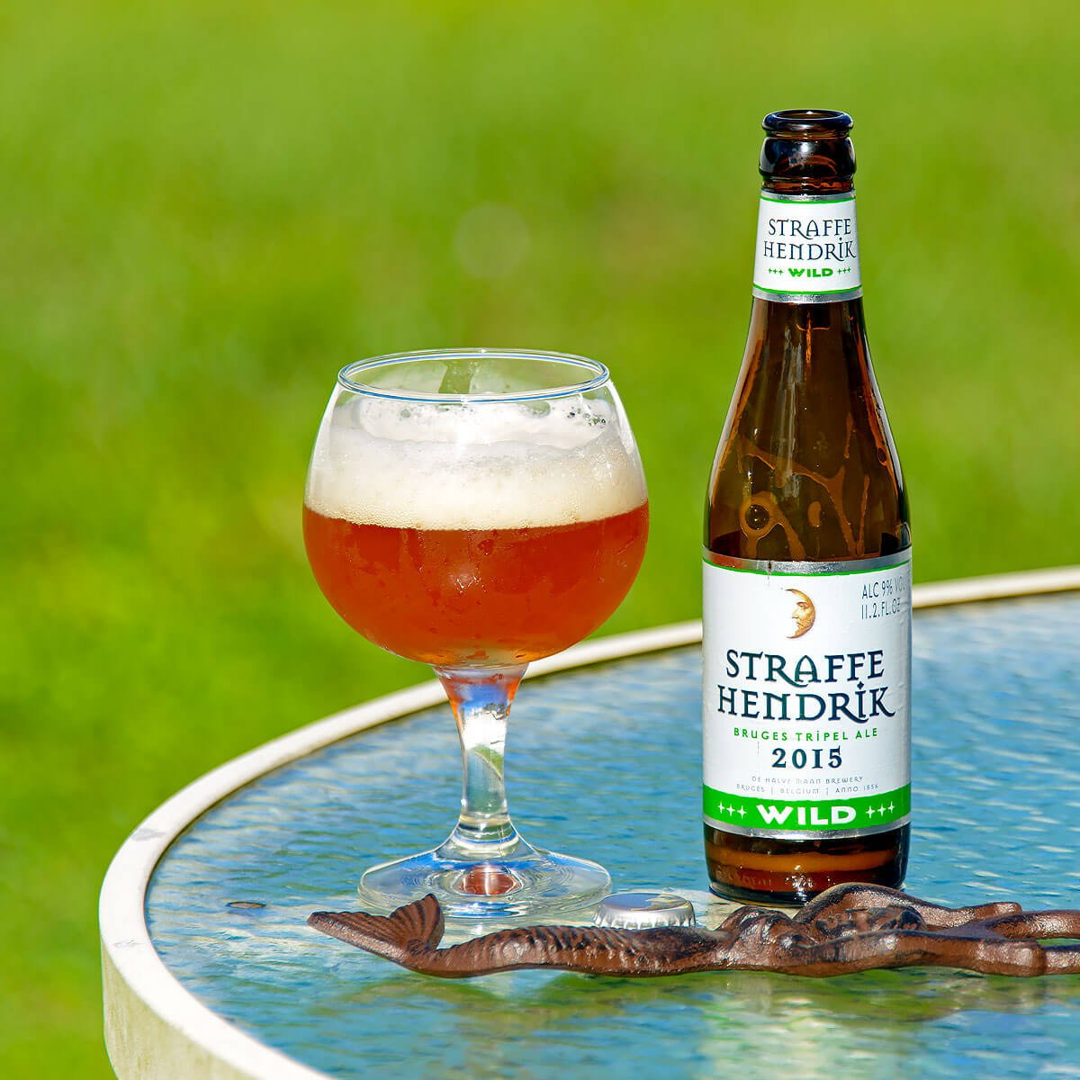 Straffe Hendrik Wild, a Belgian Tripel by Brouwerij De Halve Maan