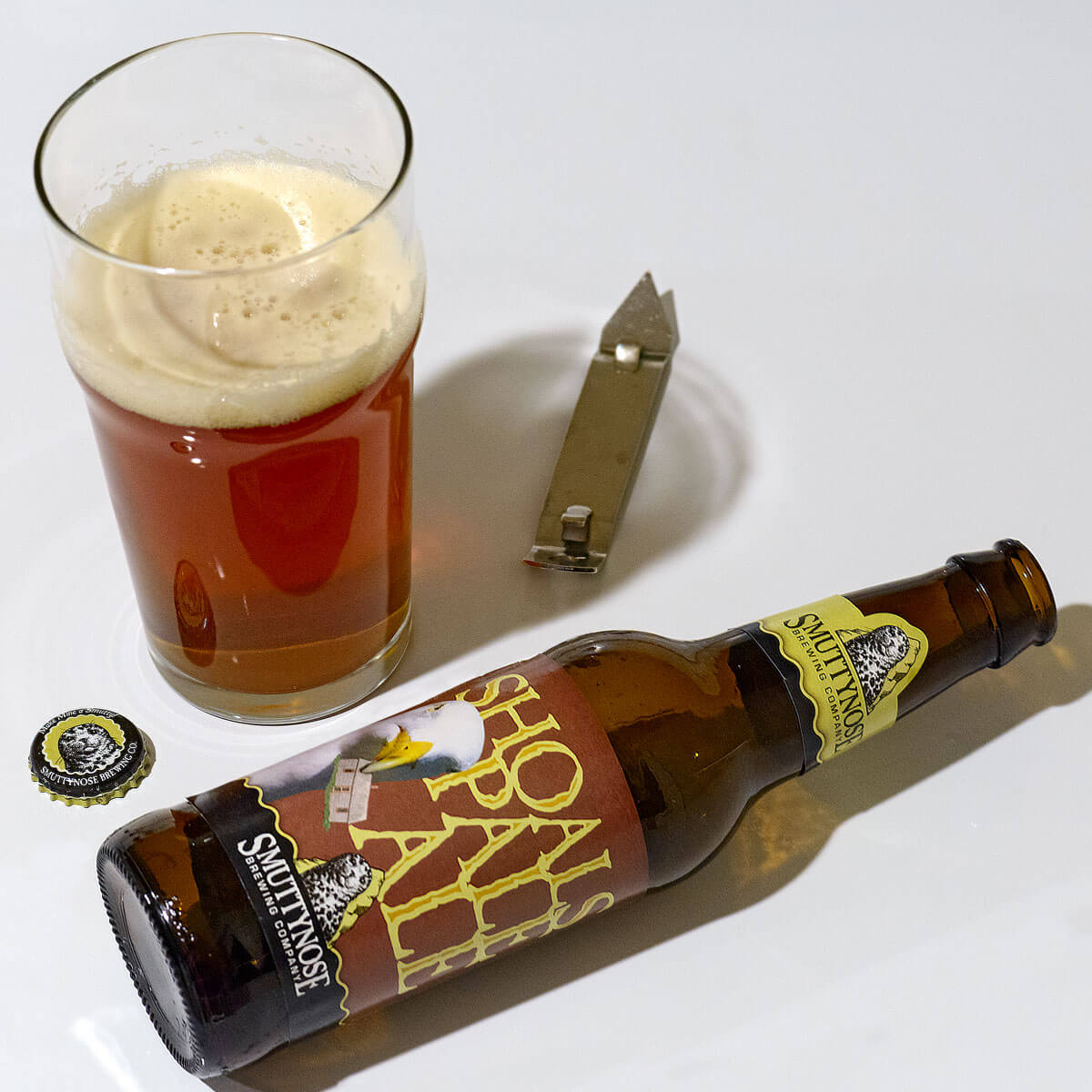 Shoals Pale Ale, an English-style Pale Ale by Smuttynose Brewing Company