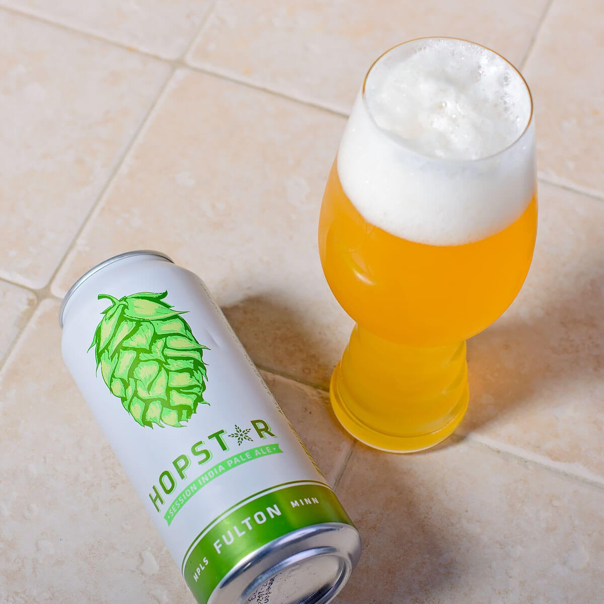 Hopstar, a Session IPA by Fulton Beer
