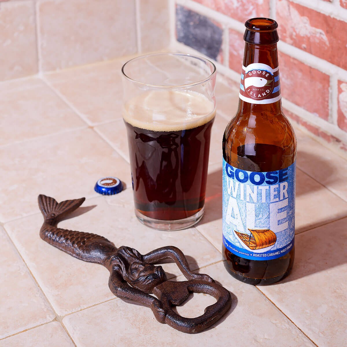 Goose Island Winter Ale, an American Brown Ale by Goose Island Beer Co.