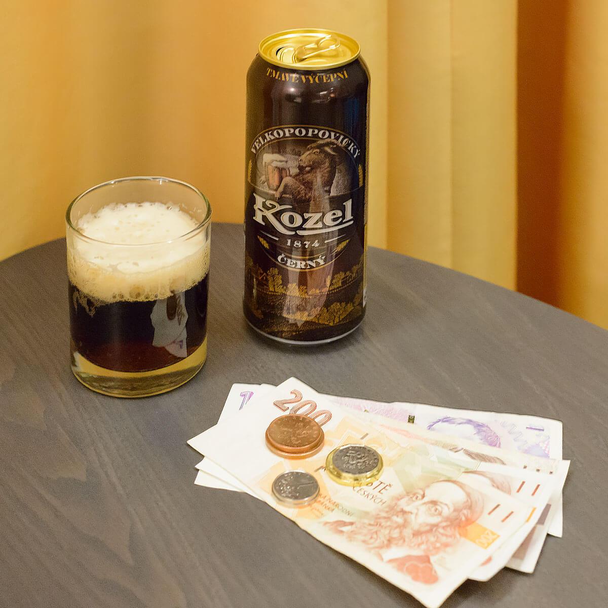 Kozel Cerny is a German-style Munich Dunkel brewed by Pivovar Velké Popovice a.s.