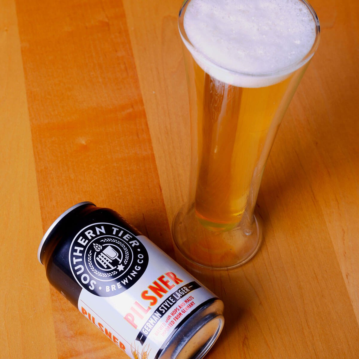 Southern Tier Pilsner, a German-style Pilsener by Southern Tier Brewing Co.